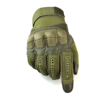 Tactical Gloves With Touch Screen Function-Touch Screen Gloves-Green-L-COOL FUN TECH