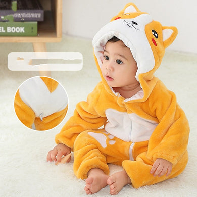 Animal Shaped Baby Rompers Winter Autumn Clothes-Animal Baby Rompers For Autumn Winter-DOG-100cm-COOL FUN TECH