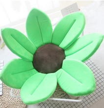 Load image into Gallery viewer, Sunflower Baby Bath Mat-Sunflower Baby Bath Mat-Green-COOL FUN TECH