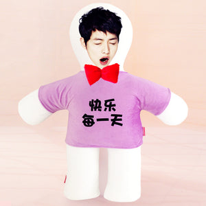 Custom humanoid pillow diy photo doll-Custom Human Shape Pillow-Purple-45cm-COOL FUN TECH