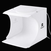 Load image into Gallery viewer, Portable Photo Booth Mini Studio with LED Lights-Portable Photo Booth-with 2 bar lights-COOL FUN TECH