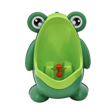 Load image into Gallery viewer, Cute Frog Toilet Potty Training Set For Boys-Baby Potty Toilet-Yellow Green-COOL FUN TECH