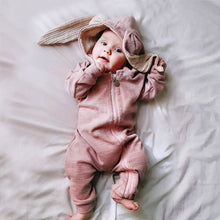Load image into Gallery viewer, Bunny Baby Rompers Autumn Winter Clothing-Bunny Baby Rompers-Pink-59cm-COOL FUN TECH