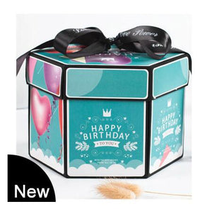D.I.Y Explosion Photo Story GIFT Box-Surprise DIY Gift Box-QE-COOL FUN TECH