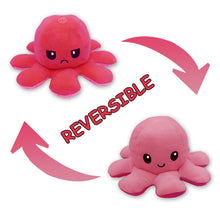 Load image into Gallery viewer, Cute Flip-Mood Octopus Plush Toy-Flip Mood Octopus Plush Toy-Pink rose-10x20cm-COOL FUN TECH