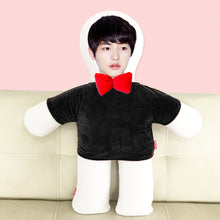 Load image into Gallery viewer, Custom humanoid pillow diy photo doll-Custom Human Shape Pillow-Black-45cm-COOL FUN TECH