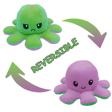 Load image into Gallery viewer, Cute Flip-Mood Octopus Plush Toy-Flip Mood Octopus Plush Toy-Purple green-10x20cm-COOL FUN TECH