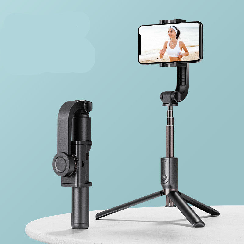 Gimbal Stabilizer Tripod Selfie Stick for iPhone Android Phone with Bluetooth-Gimbal Tripod-Black-COOL FUN TECH