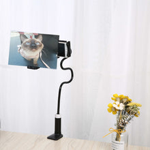 Load image into Gallery viewer, Lazy Mobile Phone Holder with Flexible Gooseneck and HD Screen Magnifier-Phone Lazy Holder with Screen Magnifier-Splint 20cm-White-COOL FUN TECH