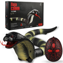 Load image into Gallery viewer, Remote Control Snake Toy-RC Snake Toy-Cobra green-COOL FUN TECH