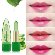 Load image into Gallery viewer, 4 Pc Natural Aloe Vera Magical Color Changing Lipstick Long Lasting Moisturizing Lips Balm-Lipstick-4PCS-COOL FUN TECH