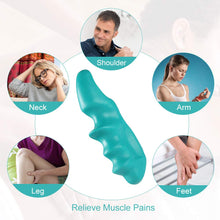 Load image into Gallery viewer, Deep Tissue Massage Tool and Thumb Saver Massager-Massage tool-Green-5 pcs-COOL FUN TECH