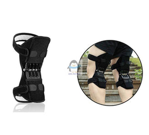 Knee Brace with Breathable Pads & Booster Spring Support-Knee Brace-1pc-COOL FUN TECH