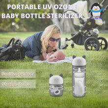 Load and play video in Gallery viewer, Portable UV Ozone sterilizer for disinfecting Baby bottle pacifier teether and daily items
