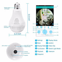 Load image into Gallery viewer, LED Light Bulb with Wifi Camera-Wifi Camera-Standard Camera-China-COOL FUN TECH