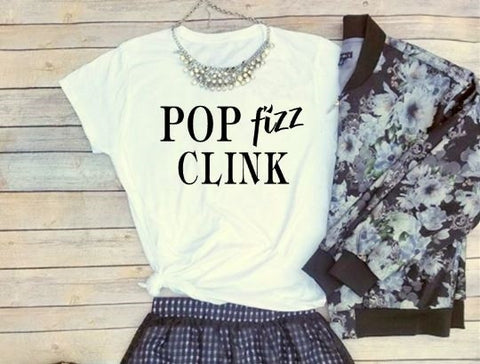 Celebrate with our Pop Fizz Clink!  T-Shirt