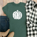 Distressed Fun Pumpkin Tee!