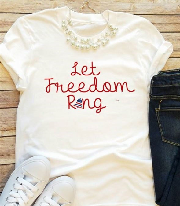 37948d471 Freedom Graphic Tees – Lacie Girl