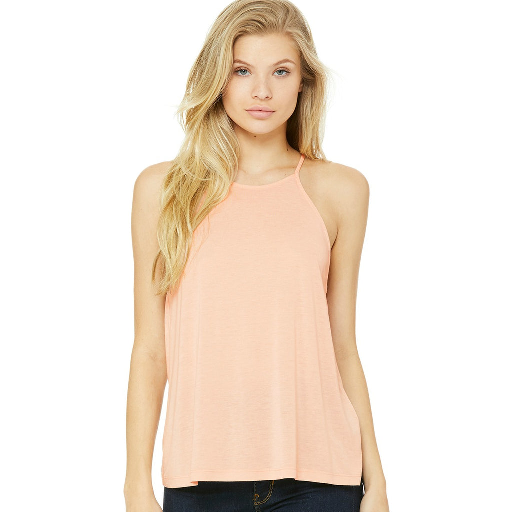 Soft Flowy High Tank Tops
