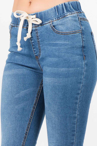 Light Jogger Denim Jeans!