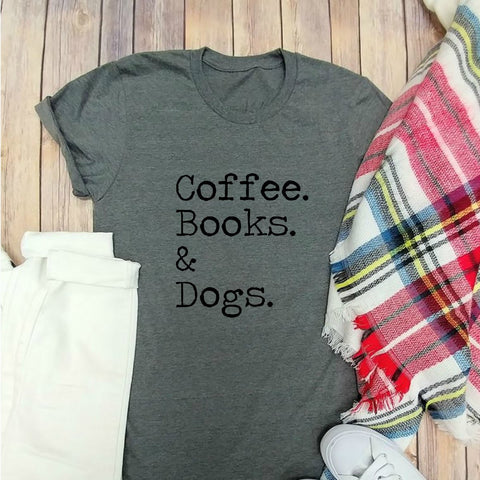 Coffee. Books. & Dogs.