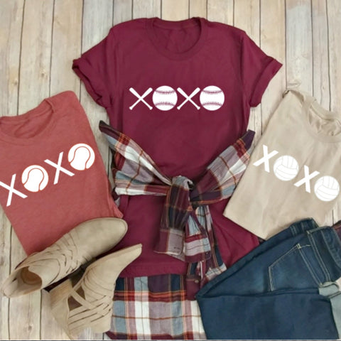 Favorite Sport XOXO Tees