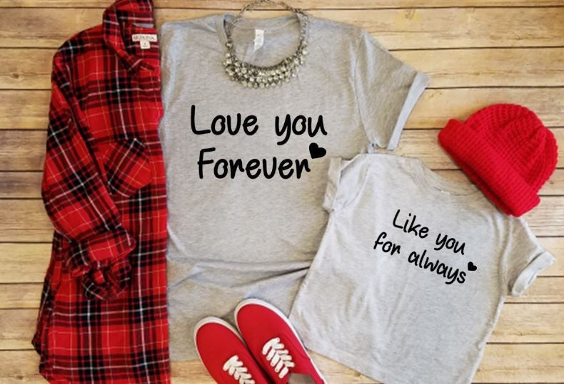 Mommy and Me graphic tees