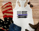 Abstract U.S. Flag! 4th of July Tee