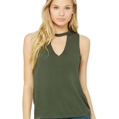 Raw Edge Soft Tank Tops