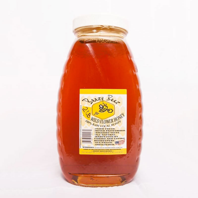 2lb NYC/NJ Raw Honey (NON-CBD PRODUCT)
