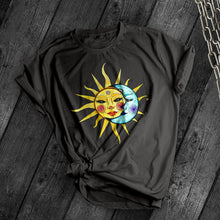 Load image into Gallery viewer, Vintage Celestial Sun & Moon Tee