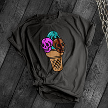 Load image into Gallery viewer, Skull Ice Cream Tee