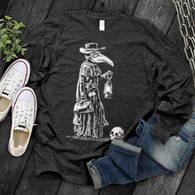 Load image into Gallery viewer, Plague Doctor Long Sleeve Tee