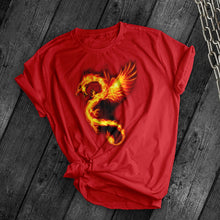 Load image into Gallery viewer, Fire Dragon Tee