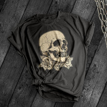 Load image into Gallery viewer, Cracked skull Tee - Dark Tees