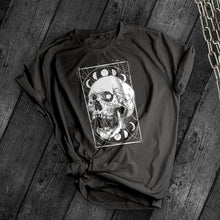 Load image into Gallery viewer, Lunar Skull Tee - Dark Tees