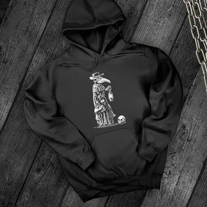 Plague Doctor Sweatshirt - Dark Tees
