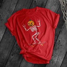 Load image into Gallery viewer, Pumpkin Skater Tee - Dark Tees