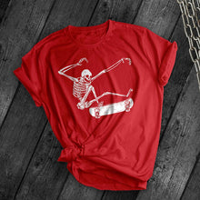 Load image into Gallery viewer, Skeleton Kick Flip Tee - Dark Tees