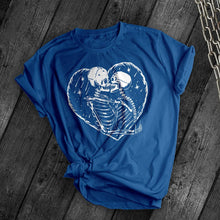 Load image into Gallery viewer, Skeleton Love Tee - Dark Tees