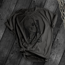 Load image into Gallery viewer, Smoking Skull Tee - Dark Tees