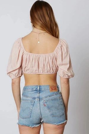 Blush Crop Top
