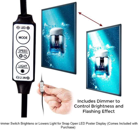Inline Dimmer (comes with ea unit) - connects to the cord - would need access to