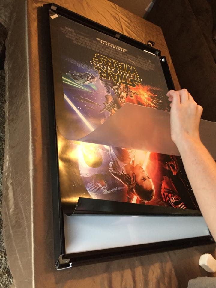 Light up your 24x36 posters now! Huge sale! USA Made and Warranty