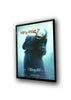 4) 27x41 Custom Premium LED Glowbox Light Box Poster Frame