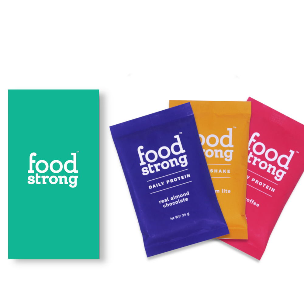 Foodstrong Tasters - Trail pack of Three