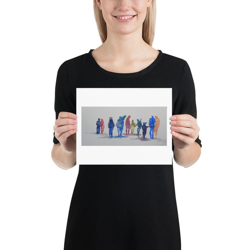 Rainbow People - Yvonne Dale Watercolours