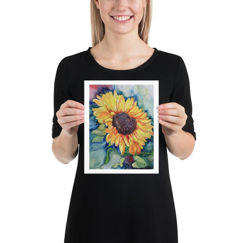 Sunflower - Yvonne Dale Watercolours