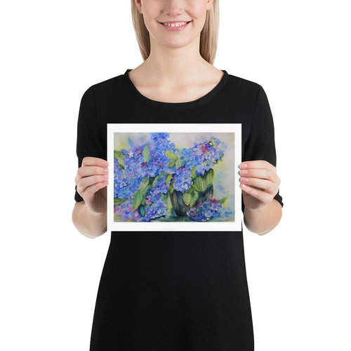 Hydrangeas - Yvonne Dale Watercolours