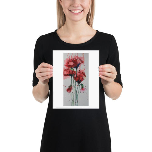 Wild Poppies - Yvonne Dale Watercolours